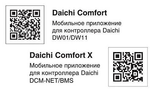 Daichi DW01-B - QR код