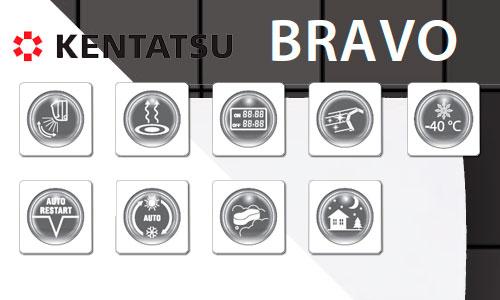 Сплит-система Kentatsu KSGBA26HZAN1 / KSRB26HZAN1 серии BRAVO INVERTER