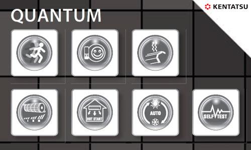Сплит-система Kentatsu KSGQ50HFAN1 / KSRQ50HFAN1 серии Quantum