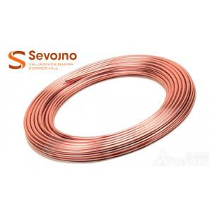 """Труба медная Sevojno 3/8"""" ASTM В68 Сербия для кондиционера"""
