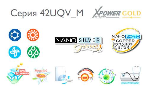 Серия UQV M X-Power Gold Inverter