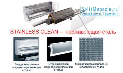 STAINLESS CLEAN –  нержавеющая сталь