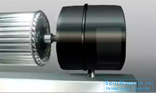 Закрытый мощный электродвигатель JAX JRM-1209SJ-3D/Y серия TITAN
