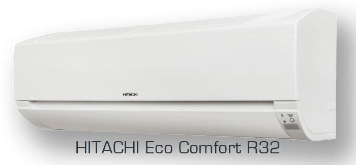 Настенные кондиционеры Hitachi серии ECO COMFORT (Хитачи Эко Комфорт R32)