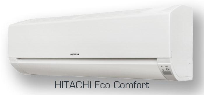 Настенные кондиционеры Hitachi серии ECO COMFORT (Хитачи Эко Комформ)